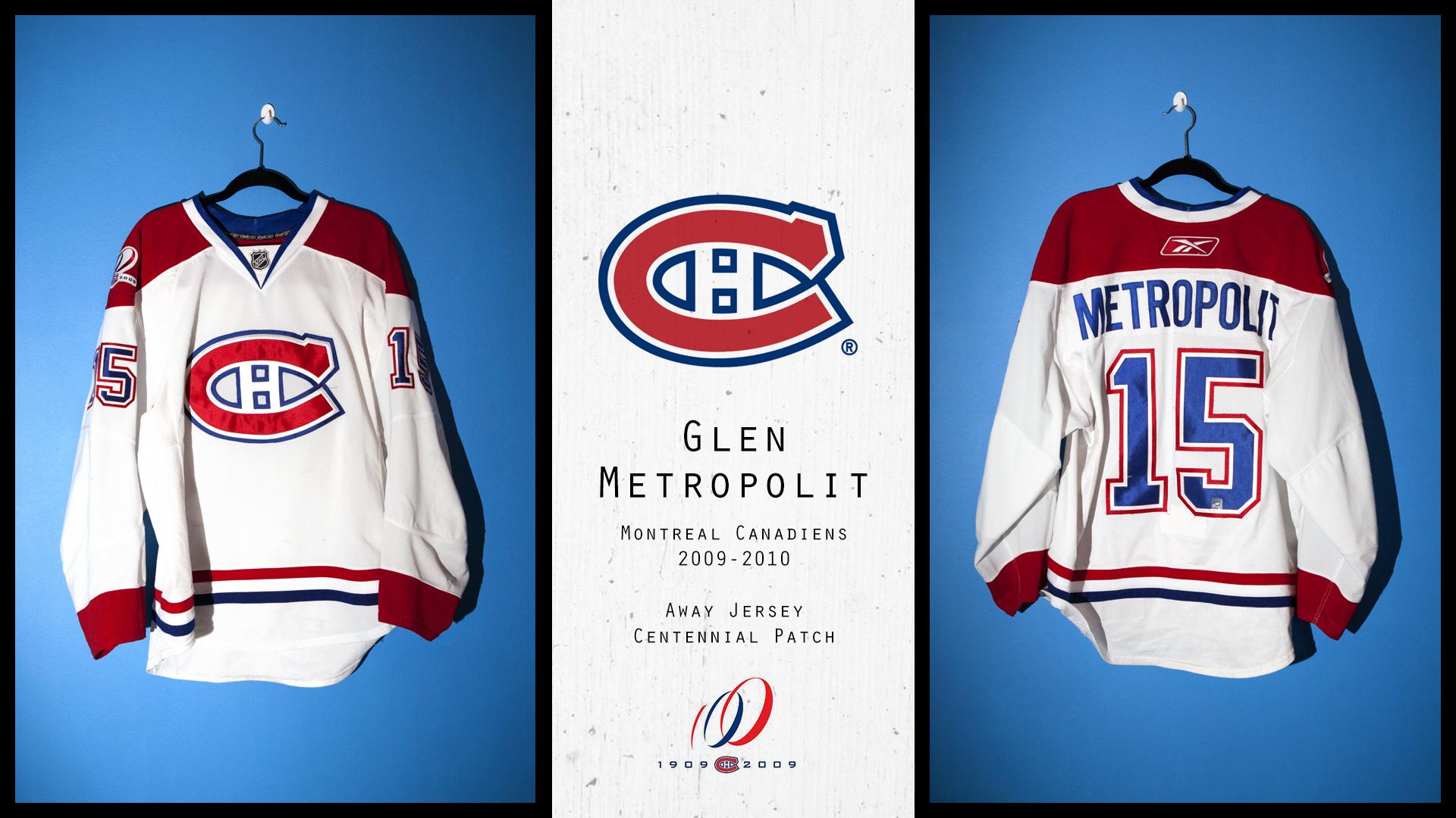 the best attitude 72695 40120 Glen Metropolit Canadiens 09-10 game worn – Jokerit Game ...