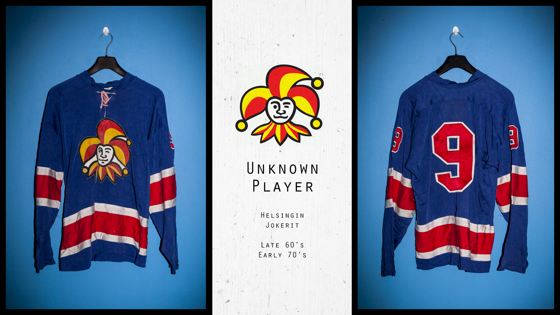 Jokerit game worn jersey from late 60 s (Possibly Timo Turunen 68-69 ... a64f1a210d0
